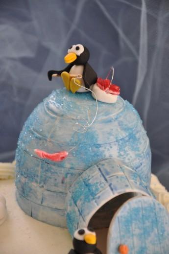 Torta Pinguini
